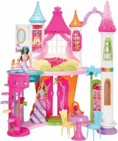 Barbie Dreamtopia Sweetvile nukkekoti