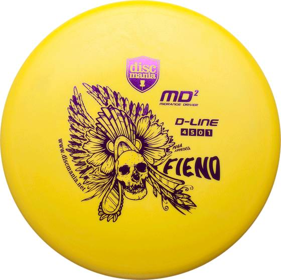 Discmania Frisbeegolf Discmania D Line D-LINE MD2 (Sizes: One size)