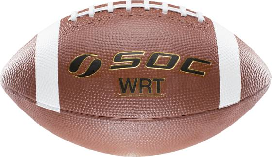 Soc American Football Leikit & pelit BROWN/WHITE (Sizes: 6)