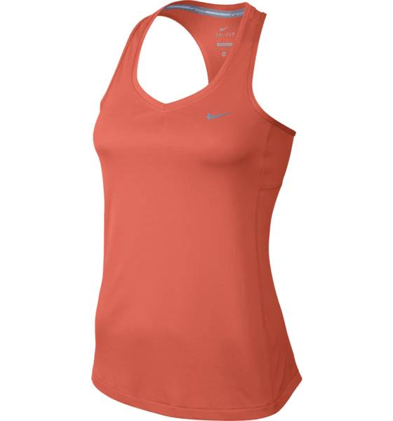 Nike Juoksuvaatteet Nike W Miler Tank TURF ORANGE/REFLEC (Sizes: M)