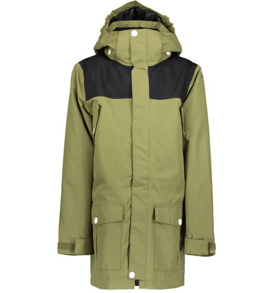 Colour Wear Retkeilyvaatteet Colour Wear T Concrete Parka LODEN GREEN (Sizes: 120)