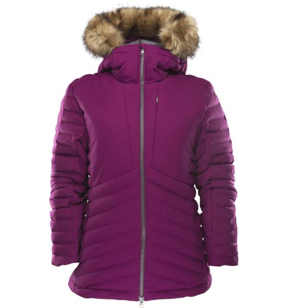 Everest Lasketteluvaatteet Everest W Ext Quilted Lodge Jacket LIGHT LILAC (Sizes: 36)