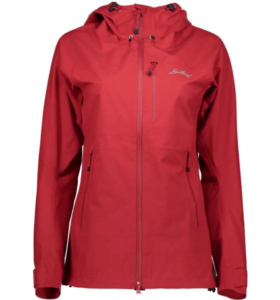 Lundhags Retkeilyvaatteet Lundhags W Salpe Jacket RED (Sizes: L)