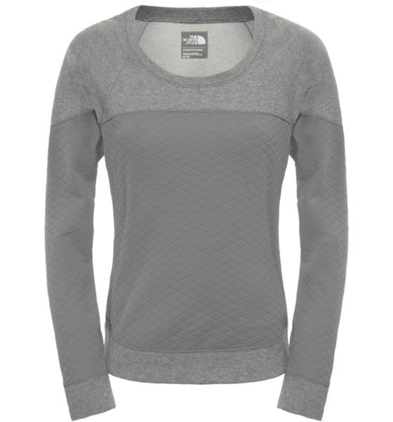The North Face Lumilautailuvaatteet The North Face W Recover Up Crew GREY/SIS (Sizes: S)