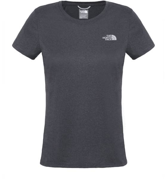 The North Face Lasketteluvaatteet The North Face W Rxn Amp Crew Tee GREY/SIS (Sizes: M)