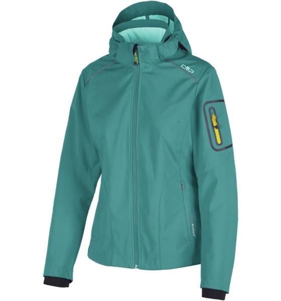 Cmp Takit Cmp W Lt Softshell Zip Hd CURACAO ANICE (Sizes: 40)