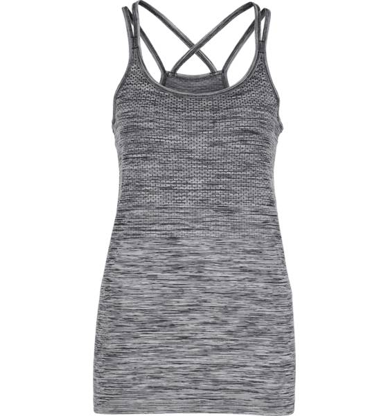 Nike Juoksuvaatteet Nike W Df Knit Tank BLACK/HTR/REFLECTI (Sizes: XS)