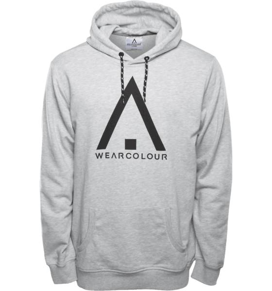 Wear Colour Lumilautailuvaatteet Wear Colour M Wear Hood GREY MELANGE (Sizes: L)