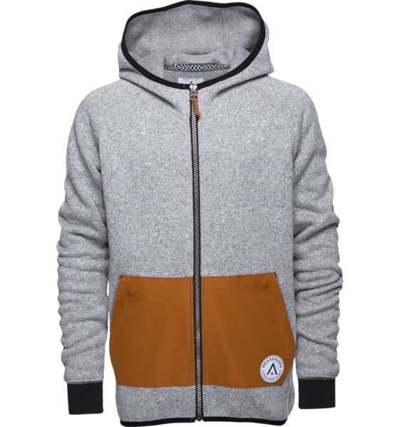 Wear Colour Lasketteluvaatteet Wear Colour J Yknit Fleece GREY MELANGE (Sizes: 150)