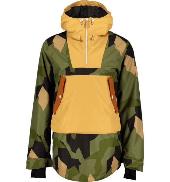 Wear Colour Takit Wear Colour M Wear Anorak ASYMMETRIC OLIVE (Sizes: S)