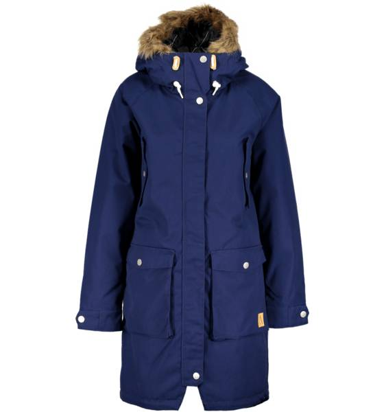 Wear Colour Takit Wear Colour W Halo Parka MIDNIGHT BLUE (Sizes: L)