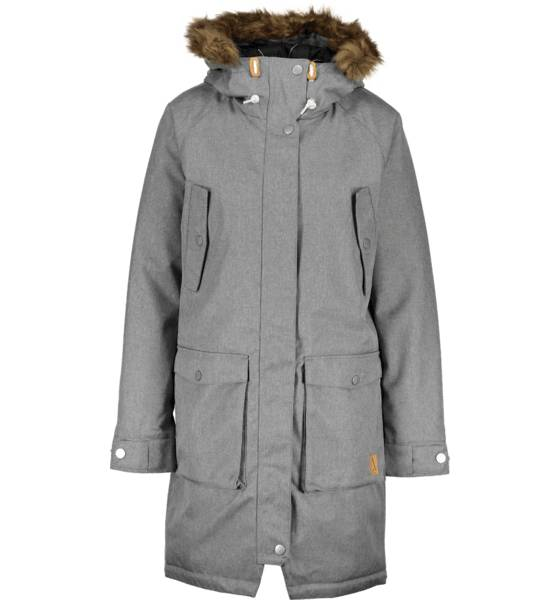 Wear Colour Takit Wear Colour W Halo Parka GREY MELANGE (Sizes: M)
