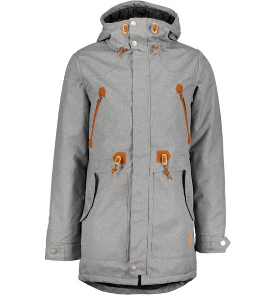Wear Colour Takit Wear Colour M Urban Parka GREY MELANGE (Sizes: M)
