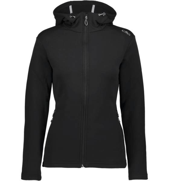 Cmp Takit Cmp W Stretch Zip Hood NERO (Sizes: 40)