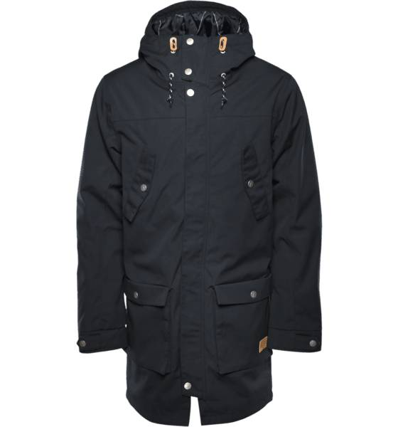 Wear Colour Takit Wear Colour M Storm Parka BLACK (Sizes: S)