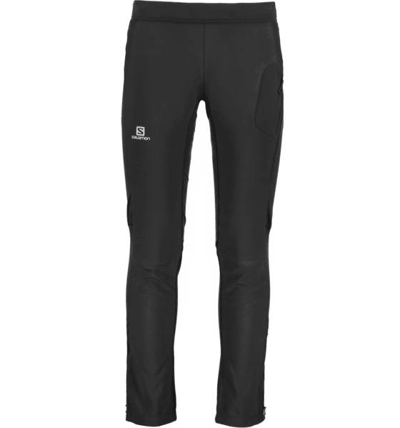 Salomon Maastohiihtovaatteet Salomon M Rs Warm Softshell Pant BLACK (Sizes: S)