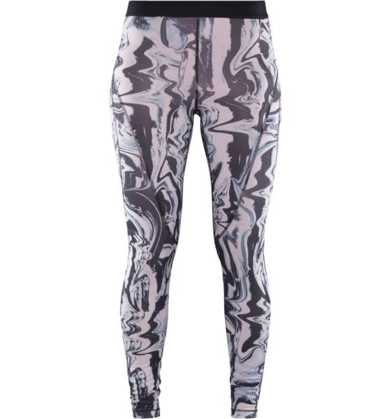 Nike W Np Hc Marble Tight Treenivaatteet PARTICLE ROSE/BLAC (Sizes: M)