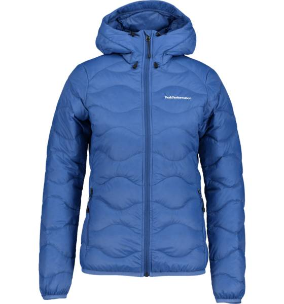 Peak Performance W Helium Hood J Takit BLUE ART (Sizes: M)