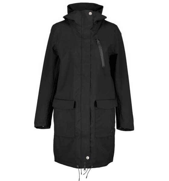 Wearcolour W Gust Parka Takit BLACK (Sizes: L)