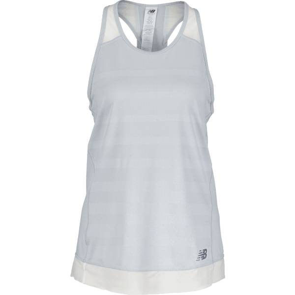 New Balance W Q Speed Jaq Tank Juoksuvaatteet LIGHT GREY (Sizes: M)