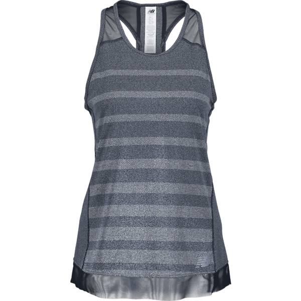 New Balance W Q Speed Jaq Tank Juoksuvaatteet DARK BLUE/DARK GRE (Sizes: M)