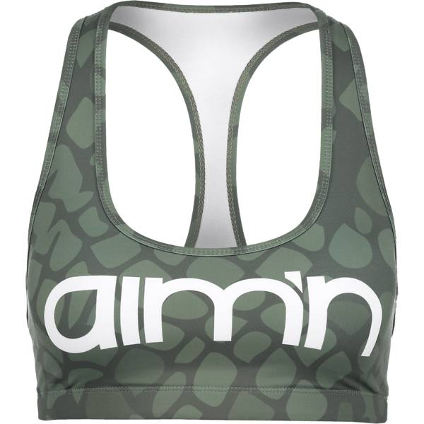 Aim´n W Anaconda Logo Bra Treenivaatteet GREEN (Sizes: S)