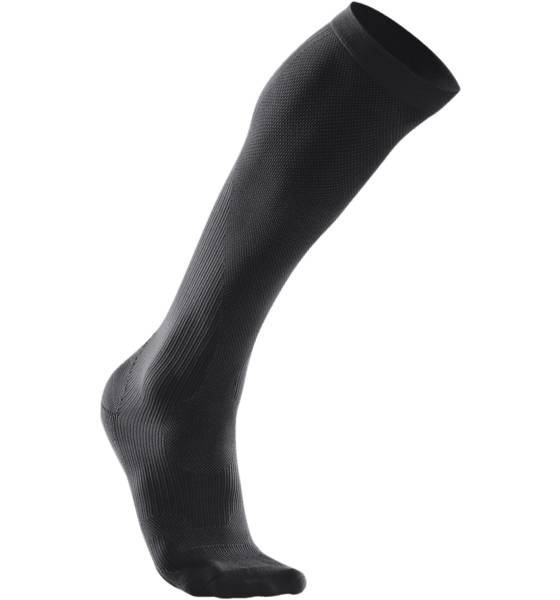 2xu Juoksuvaatteet 2xu M Compression Performance Run Sock BLACK/BLACK (Sizes: L)