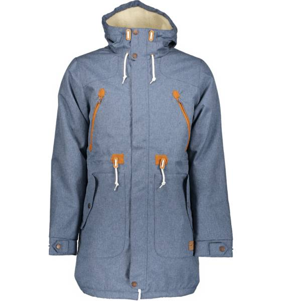 Colour Wear Takit Colour Wear M Urban Parka Ii DENIM BLUE (Sizes: M)