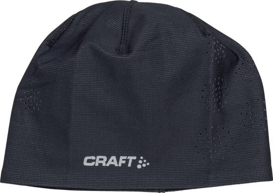 Craft Maastohiihtovaatteet Craft Perforated Hat BLACK (Sizes: S/M)