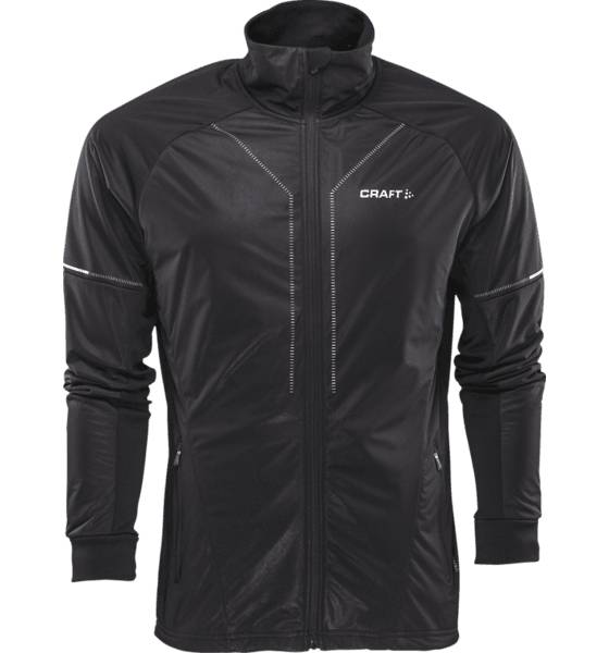 Craft Maastohiihtovaatteet Craft M Storm Jacket 2.0 BLACK (Sizes: XL)