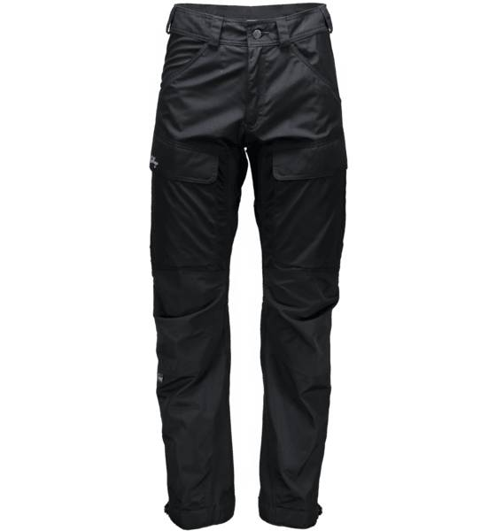 Lundhags Retkeilyvaatteet Lundhags M Authentic Pant BLACK (Sizes: 54)