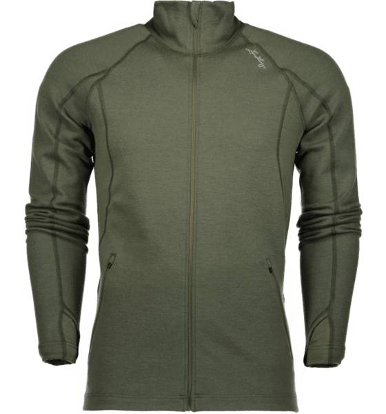 Lundhags Retkeilyvaatteet Lundhags M Merino Full Zip EVERGREEN (Sizes: S)