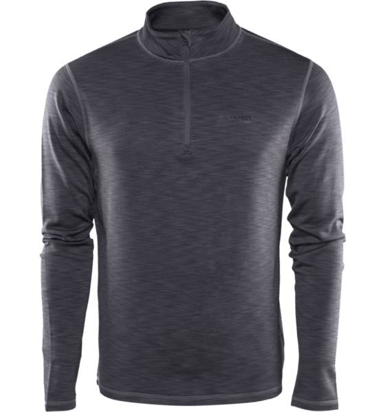 Everest Maastohiihtovaatteet Everest M Adv Xc Zipp Shirt DARK GREY/MELANGE (Sizes: S)