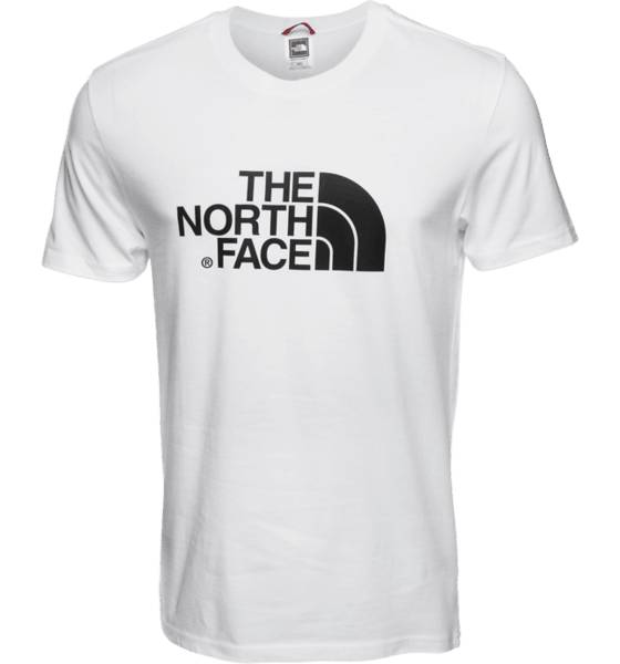 The North Face Retkeilyvaatteet The North Face M Ss Easy Tee WHITE (Sizes: XL)