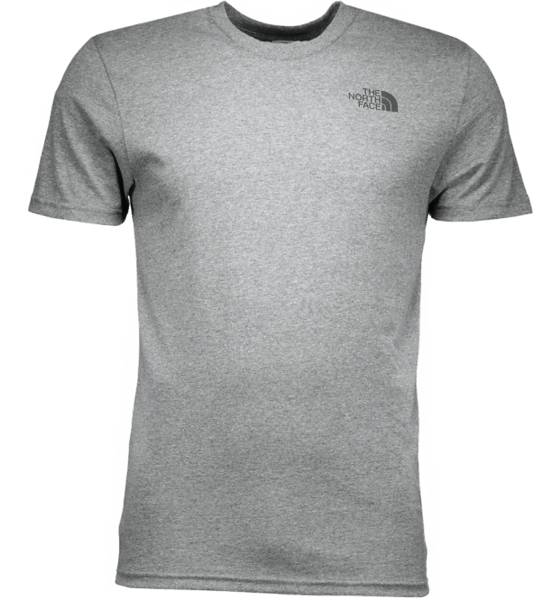 The North Face Retkeilyvaatteet The North Face M Ss Simple Dome Tee TNF GREY HEATHER (Sizes: XL)