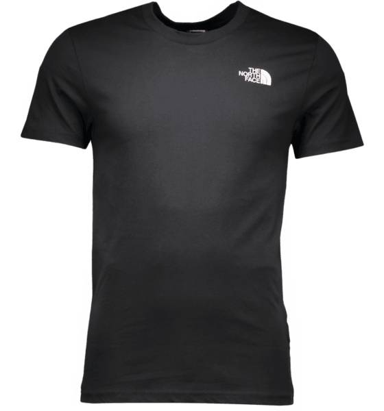 The North Face Retkeilyvaatteet The North Face M Ss Simple Dome Tee TNF BLACK (Sizes: L)