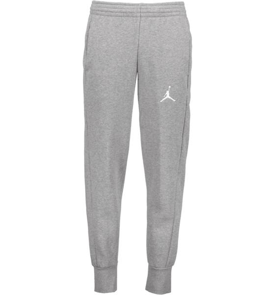 Jordan Koripallovaatteet Jordan M Flight Fleece Wc Pant CARBON HEATHER/WHI (Sizes: L)