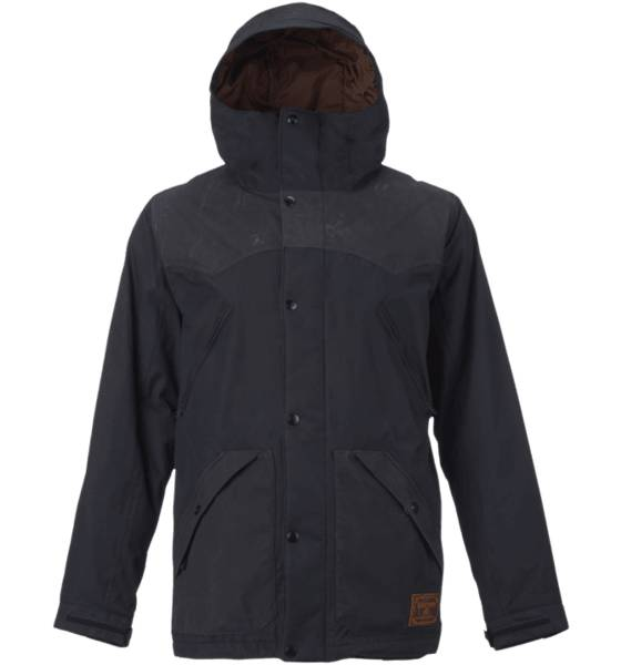 Burton Takit Burton M Folsom Jkt TRUE BLACK (Sizes: L)