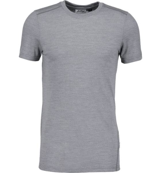 Lundhags Retkeilyvaatteet Lundhags M Merino Light Tee LIGHT GREY (Sizes: M)