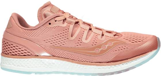 Saucony Freedom Iso Juoksukengät SALMON/SALMON (Sizes: US 5)