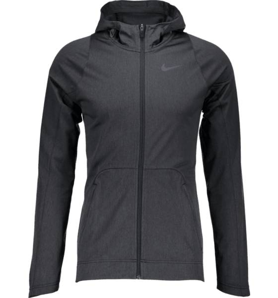 Nike Koripallovaatteet Nike M Hoodie Fz Hprelt BLACK HEATHER/BLAC (Sizes: XL)