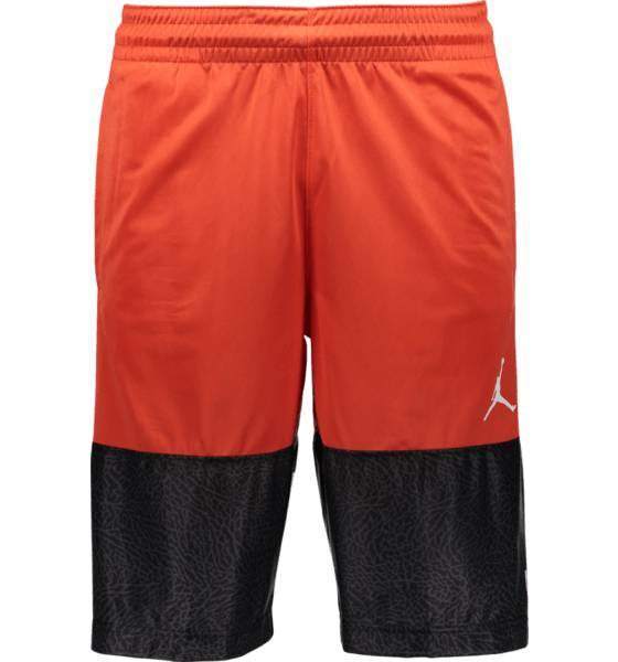 Jordan Koripallovaatteet Jordan M Classic Aj Blockout Short MAX ORANGE/WHITE (Sizes: L)