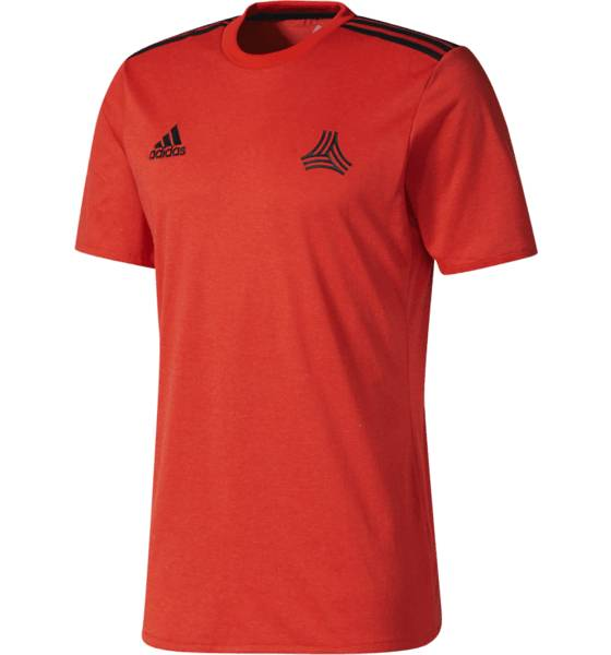 Adidas Jalkapallovaatteet Adidas M Tango Co Tee CORE RED (Sizes: M)