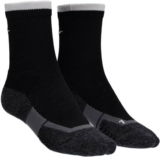Nike Juoksuvaatteet Nike U Nk Elt Crew Sock BLACK/WHITE (Sizes: XL)