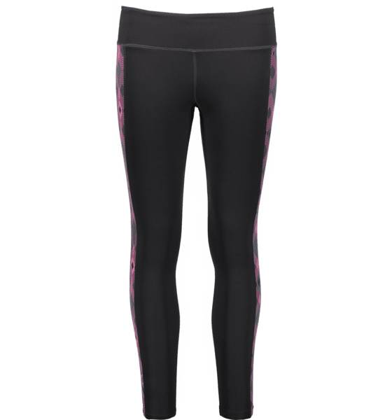 2xu W Fitness Compression Tights Treenivaatteet BLACK/GEO FANDANGO (Sizes: XST)