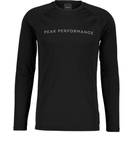 Peak Performance Juoksuvaatteet Peak Performance M Gallos Dyedron Ls BLACK (Sizes: S)