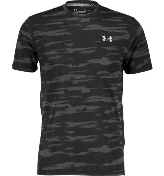Under Armour Juoksuvaatteet Under Armour M Threadborne Run Mesh Ss BLACK (Sizes: S)