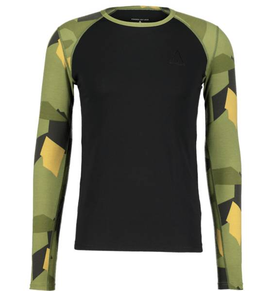 Wear Colour Retkeilyvaatteet Wear Colour M Guard Ls Jersey BLACK (Sizes: M)