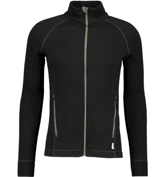 Lundhags Retkeilyvaatteet Lundhags M Quilt Full Zip BLACK (Sizes: S)