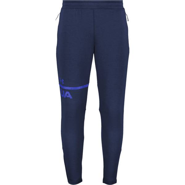 Under Armour M Tech Terry Tapered Pant Treenivaatteet ACADEMY/ROYAL (Sizes: M)